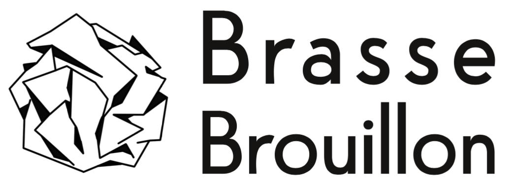 logotype brasse brouillon